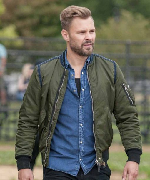 Chicago PD Adam Ruzek Green Jacket