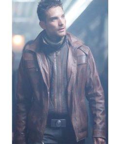Deke Shaw Brown Leather Jacket
