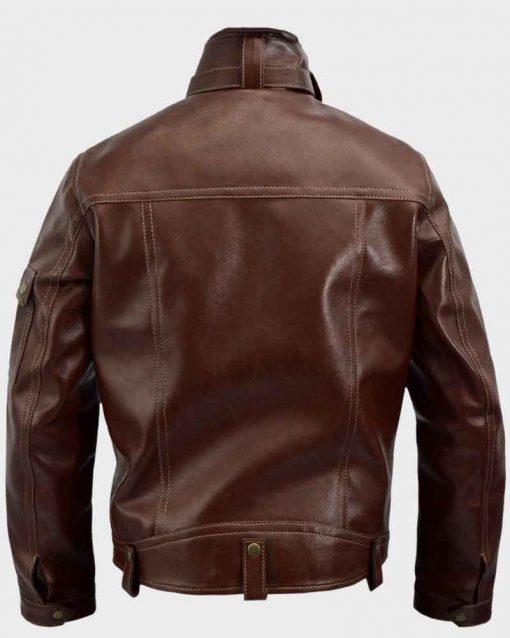 Gangster Kingdom Spade 4 Brown Jacket