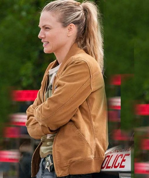 Hailey Upton Brown Jacket