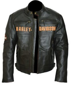 Harley Davidson Men Passing Link Triple Vent Jacket