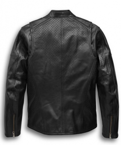 Harley Davidson Men's Llano Perforated Jacket