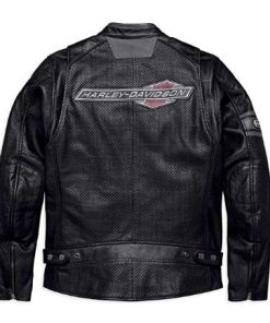 Harley Davidson Men's Manta Leather Jacket