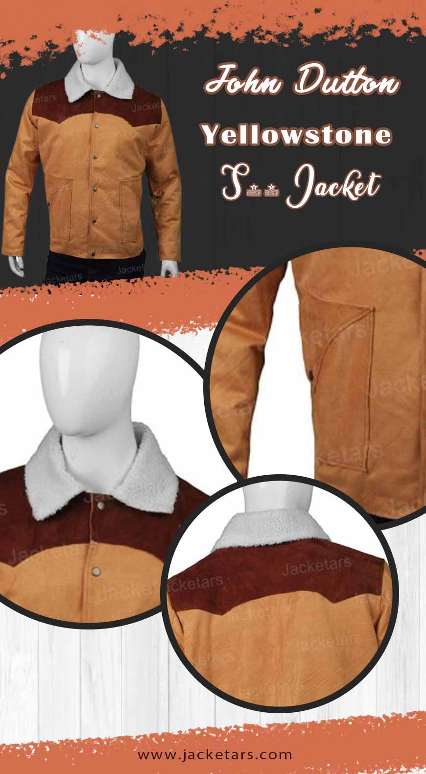 John Dutton Yellowstone S03 Jacket info