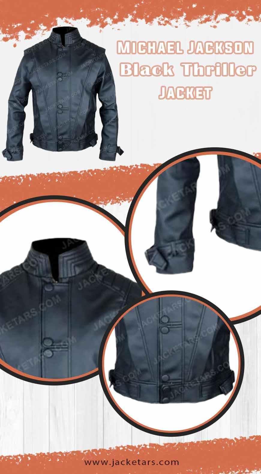 Michael Jackson Black Thriller Jacket INFO