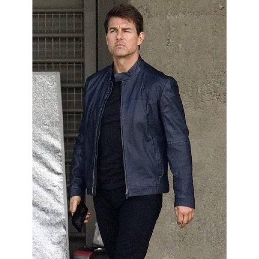 Mission Impossible 7 Tom Cruise Leather Jacket