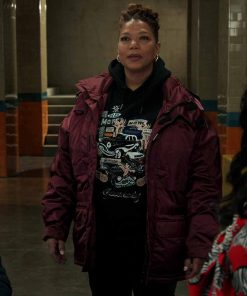 Queen Latifah Red Jacket