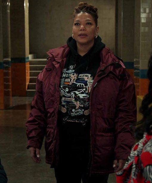 Queen Latifah Red Jacket