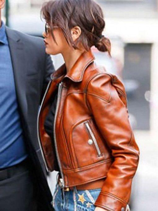 Selena Gomez Leather Jacket