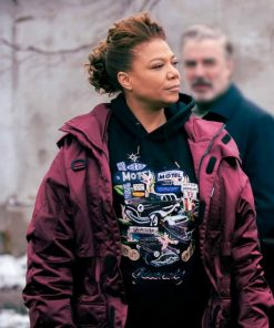 The Equalizer Queen Latifah Red Jacket