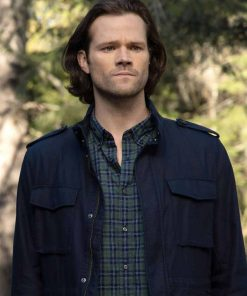 Walker Jared Padalecki Black Jacket