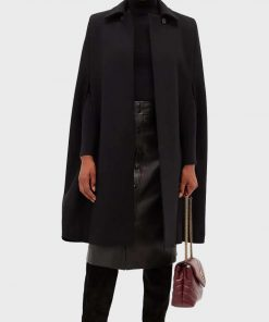 Younger Kelsey Peters Cape Coat
