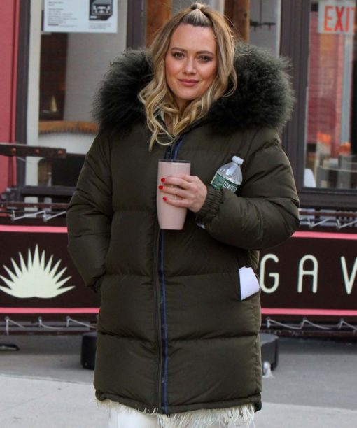 Younger Kelsey Peters Fur Puffer Jacket