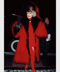 101 Dalmatians Cruella Devil Fur Coat