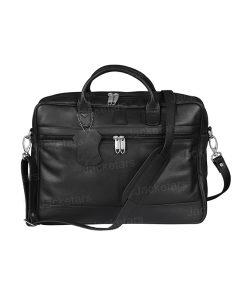 Briefcase Laptop Messenger Black Bag1