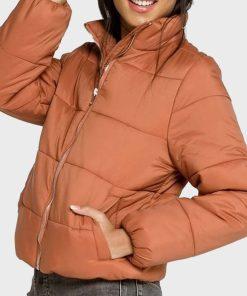 Chicago Fire Gianna Mackey Puffer Jacket