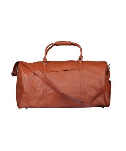 Handmade Duffle Leather Bag