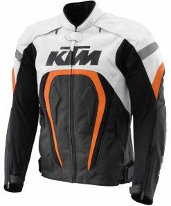 KTM Motorcycle Leather Jacket