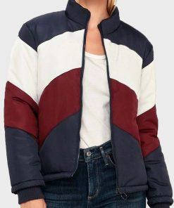 Kylie Estevez Colorblock Jacket