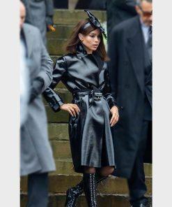Selina Kyle Leather Coat