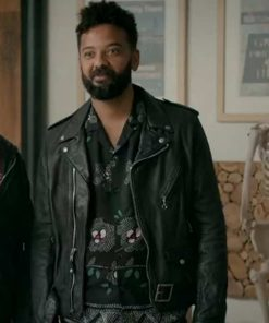 Shrill Amadi Leather Jacket