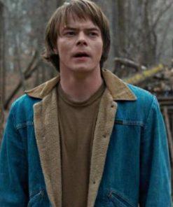 Stranger Things Jonathan Byers Blue Denim Jacket