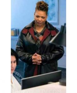 The Equalizer E07 Queen Latifah Leather Coat