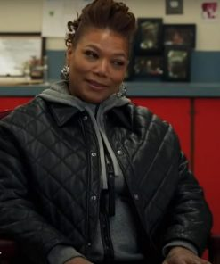 The Equalizer Queen Latifah Quilted Jacket