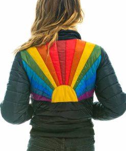 Women's Rainbow Sunburst Jacket