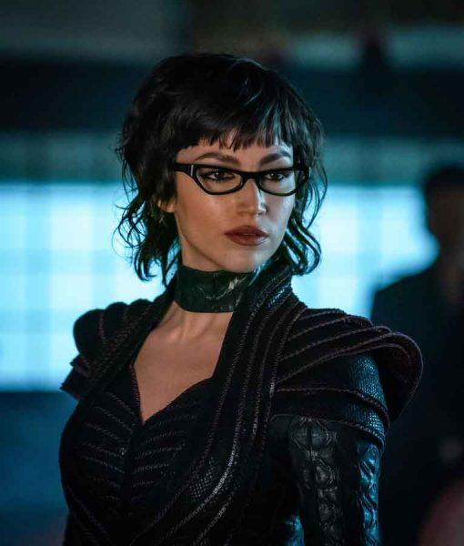 Baroness Snake Eyes G.I. Joe Origins Black Jacket