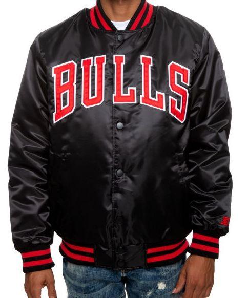 Chicago Bulls Black Jacket