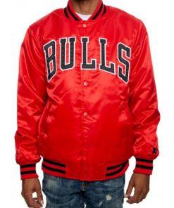 Chicago Bulls Red Jacket