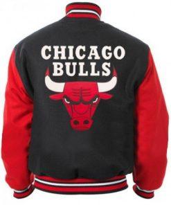 Chicago Bulls Varsity Bomber Jacket