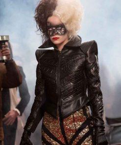 Cruella 2021 Cruella de Vil Leather Jacket