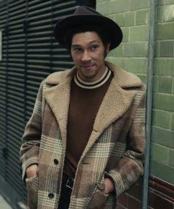 Cruella Joel Fry Check Coat