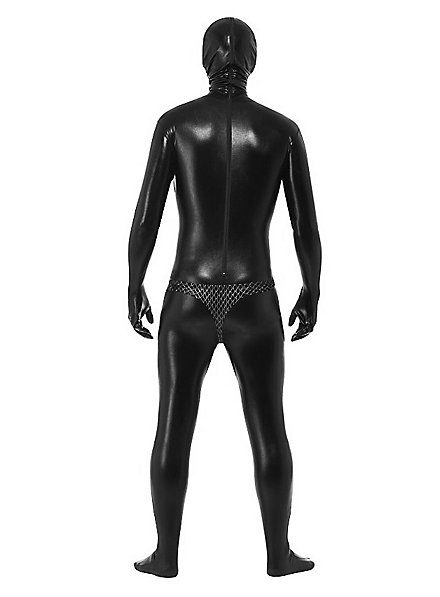 Gimp Costume With Chainmail Pants and Leather Straps