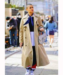 Gossip Girl 2021 Jordan Alexander Long Coat