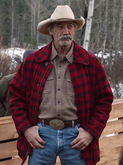 Heartlan Jack Bartlett Red Plaid Jacket
