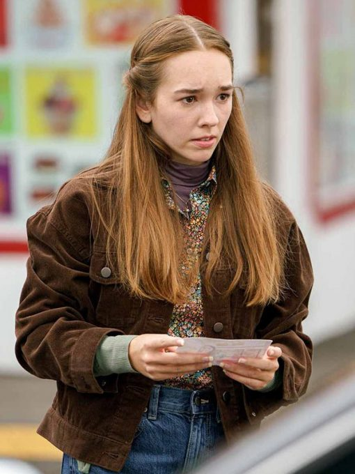 Holly Taylor Manifest Brown Jacket