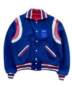 Independence Day Band Varsity Blue Jacket