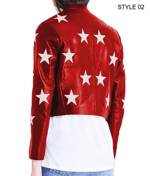 Independence Day Womens Cropped Jacket Style 2