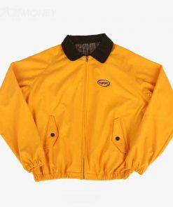 Jungkook Apoc Euphoria Yellow Cotton Bomber Jacket
