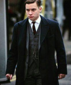 Peaky Blinders Michael Gray Black Coat