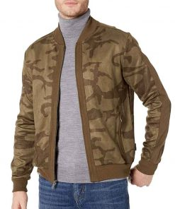 Sam Wilson The Falcon and the Winter Soldier Camo Bomber Jacket