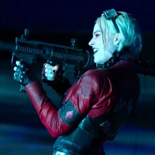 Suicide Squad 2 Harley Quinn Leather Jacket