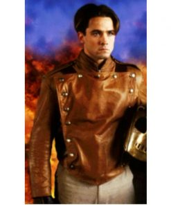 The Rocketeer Brown Leather Jacket