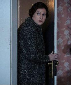 Why Women Kill Alma Fillcot Black Wool Coat