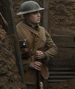 1917 Leather Brown Vest