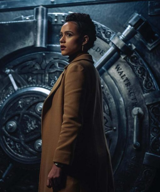 Gwendoline Army of Thieves Brown Trench Coat