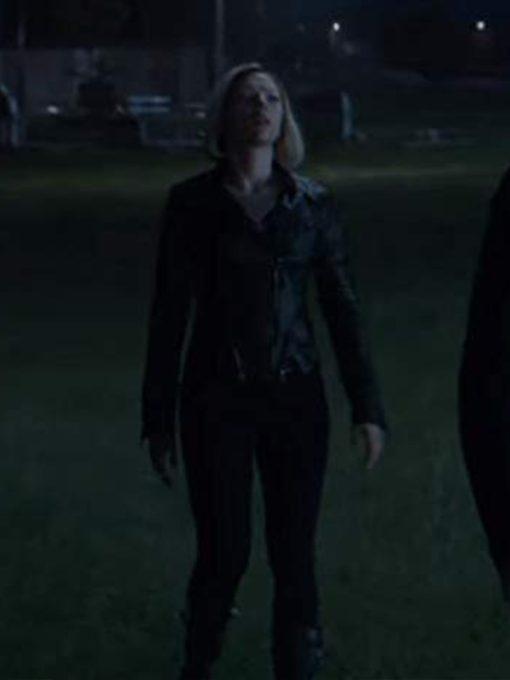 Natasha Romanoff Avengers Endgame Leather Jacket